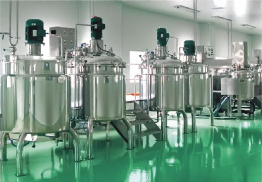 Stainless Steel Mixer Tank Vacuum Emulsifying Homogenizer